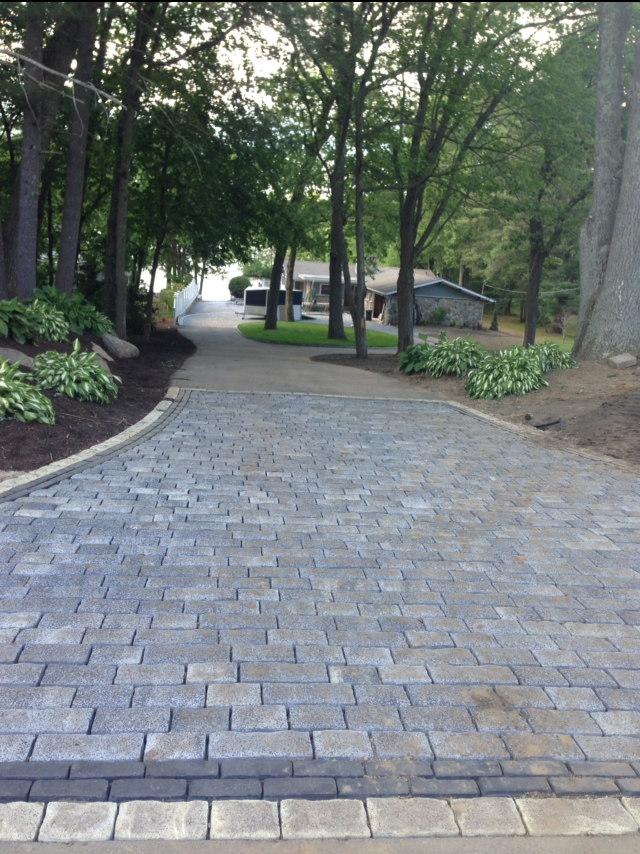 paver driveway - crop